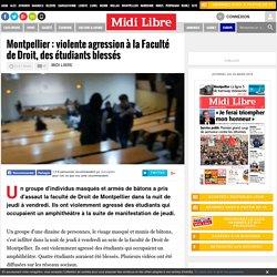 violente agression à la Faculté de Droit, des étudiants blessés