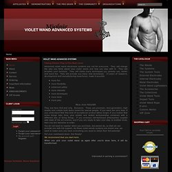 The MJOLNIR PULSE VIOLET WAND - Violet Wand Advanced Systems