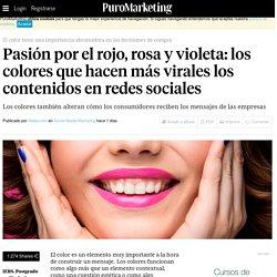 Pasión por el rojo, rosa y violeta: los colores que hacen más virales los contenidos en redes sociales