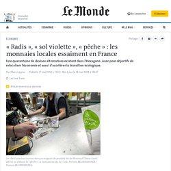 «Radis», «sol violette», «pêche» : les monnaies locales essaiment en France