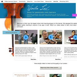Violin Lab - Beginner Online Violin Lessons