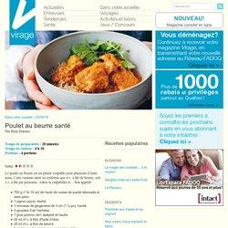 Virage – Le magazine en lignePoulet au beurre santé - Virage - Le magazine en ligne