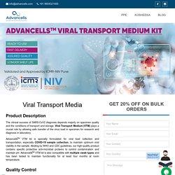 COVID-19: Viral Transport Medium Buy Online