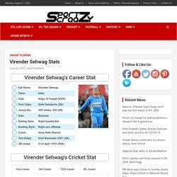 Virender Sehwag Stats: Centuries, IPL Career, Jersey, ODI & Test Runs Records