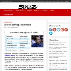 Virender Sehwag Social Media: Facebook, Twitter, Instagram Accounts ID & Followers
