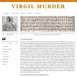 Virgile assassiné par Auguste : le dossier