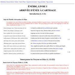 Virgile - Enéide, 1, 1-222