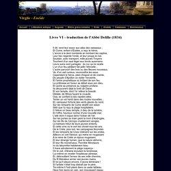 Virgile - L'Enéide - Livre VI - Traduction en vers de l'abbé Delille (1834)