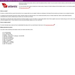 Virgin Atlantic Airways - Popup