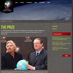 Virgin Earth Challenge : The Prize
