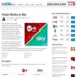 Virgin Media vs Sky review 2014