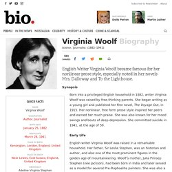 Virginia Woolf - Biography - Author, Journalist