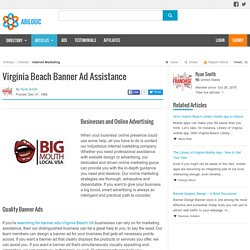 Virginia Beach Banner Ad Assistance