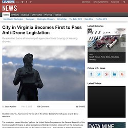 City in Virginia Becomes First to Pass Anti-Drone Legislation - US News & World Report