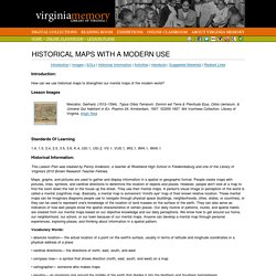 Virginia Memory: Historical Maps With A Modern Use
