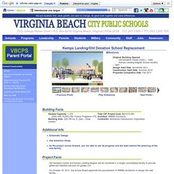 Virginia Beach City Public Schools - School Construction