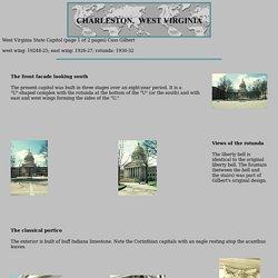 West Virginia State Capitol by Cass Gilbert