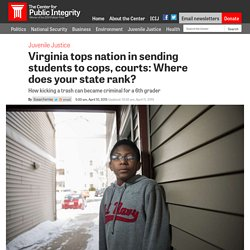 Virginia tops nation in sending students to cops, courts: Where does your state rank?