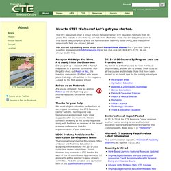 Virginia's CTE Resource Center — Career and Technical Education