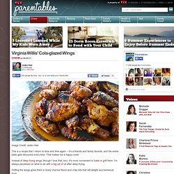 Virginia Willis' Cola-glazed Wings : Parentables