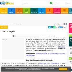 Uso da vírgula: aprenda como usar esse sinal gráfico - Brasil Escola