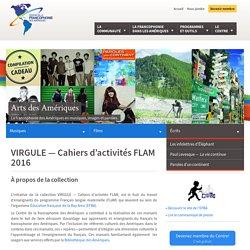 VIRGULE —Cahiers d'activités FLAM
