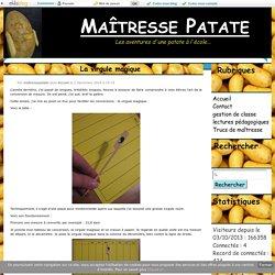 La virgule magique - Maîtresse Patate