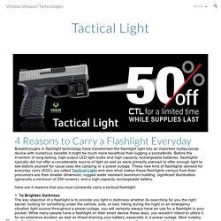 Viridian Weapon Technologies - Tactical Light
