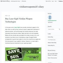 Buy Laser Sight Viridian Weapon Technologies - viridianweapontech's diary