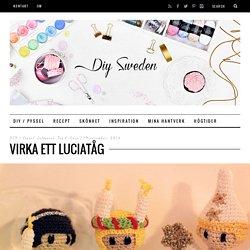 Virka ett luciatåg - DIY Sweden