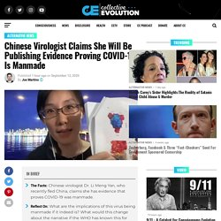 Chinese Virologist Claims She Will Be Publishing Evidence Proving COVID-19 Is Manmade