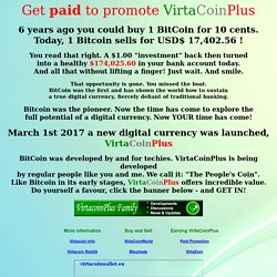 VirtaCoinPlus - The Most Interesting Crypto