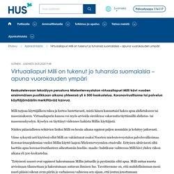 Virtuaaliapuri Milli on tukenut jo tuhansia suomalaisia – apuna vuorokauden ympäri