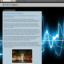 BYOD-Ylöjärvi: Virtuaalimatka Eurooppaan
