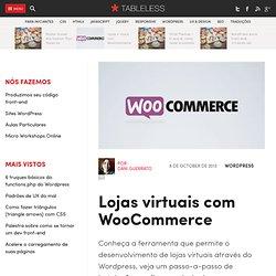 Lojas virtuais com WooCommerce