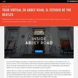Tour virtual en Abbey Road, el estudio de The Beatles