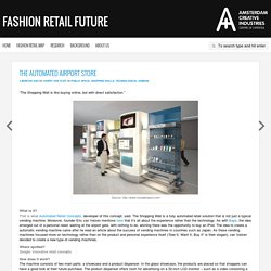 The virtual airport store