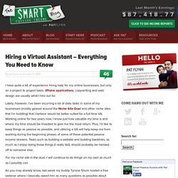 Hiring a Virtual Assistant – Everything You Need to Know