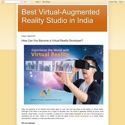 Contact the Best Virtual Reality Development Company in India