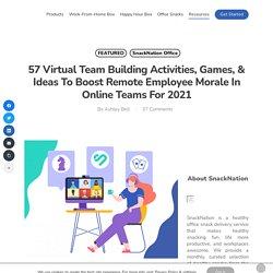 57 Virtual Team Building Activities For Remote Teams In 2021