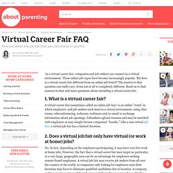 Virtual Career Fair - What Is a Virtual Job Fair - Virtual Career Fair FAQ