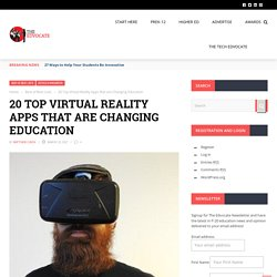 20 Top Virtual Reality Apps that are Changing Education