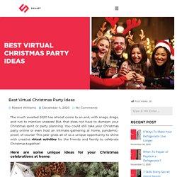 Best Virtual Christmas Party Ideas