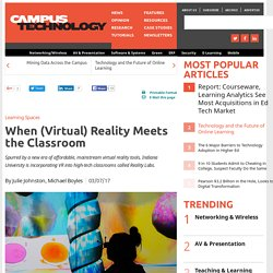 When (Virtual) Reality Meets the Classroom