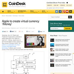 Apple to create virtual currency 'iMoney'