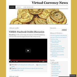 Virtual Currency News | Just another WordPress.com weblog