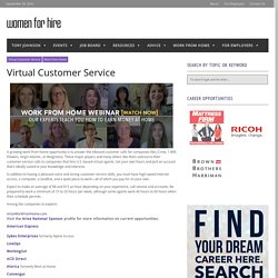 Virtual Customer Service