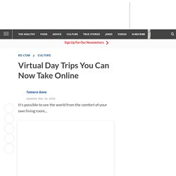 Virtual Day Trips You Can Now Take Online