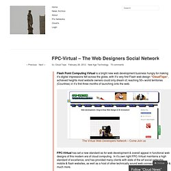 FPC-Virtual – The Web Designers Social Network