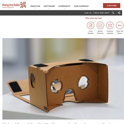 Using Virtual Reality To Engage On Development Projects - Bang The Table